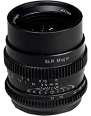 SLR Magic Marco Completo Cine 35 mm F/1.2 Lente para Sony E-Mount 52 mm Variable Filtro ND