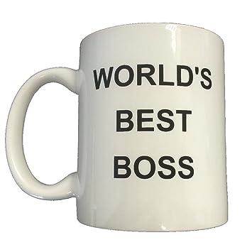World's Best Boss Coffee Mug Michael Scott The Office Steve Carell