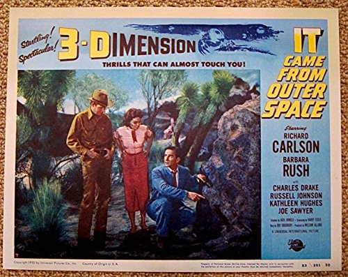 It Came From Outer Space Lobby Card #7