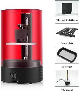 Impresora 3D, Baugger- Estereolitografía Grado Técnico LCD Resina ...