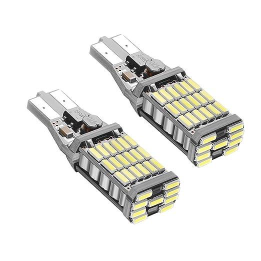 19 opinioni per MHtech 1000 Lumens Lampadine LED Auto Super Luminoso CANBus Senza Errori 921.912