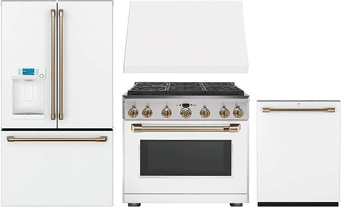 Amazon.com: GE CAFE - Paquete de 4 piezas de cocina con ...