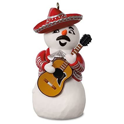 977ca368f5d4f Image Unavailable. Image not available for. Color  Hallmark 2016 Feliz  Navidad Musical Ornament