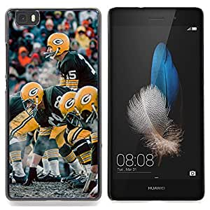 - G Football/ Hard Snap On Cell Phone Case Cover - Cao - For HUAWEI P8 Lite