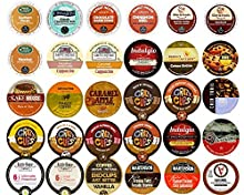 Flavored Coffee Variety Sampler Pack for Keurig K-Cup Brewers, 30 Count