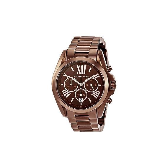 Amazon.com: Michael Kors Womens MK5628 Bradshaw Brown Watch: Michael Kors: Watches