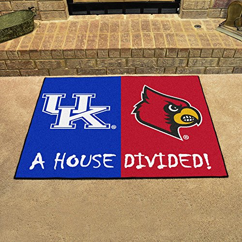 (Kentucky Wildcats / Louisville Cardinals House Divided NCAA All-Star