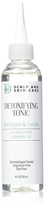 Design Essentials Scalp & Skin Care Detoxifying Tonic, 4 Fluid Ounce by Design Essentials