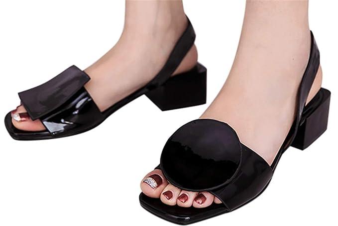 1092f94489b27 Amazon.com: Fainosmny Summer Womens Sandals Fashion Wedges Block ...