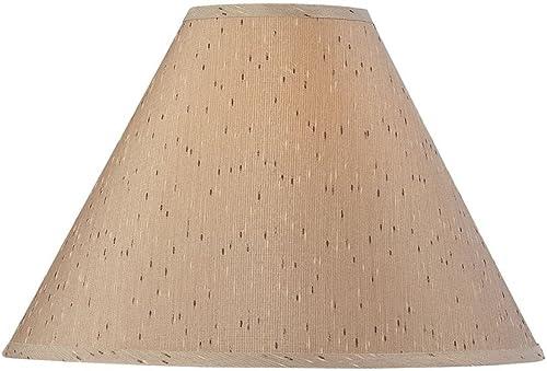 Dolan Designs 140054 Empire Hard Back Lamp Shade, Bronze Dark