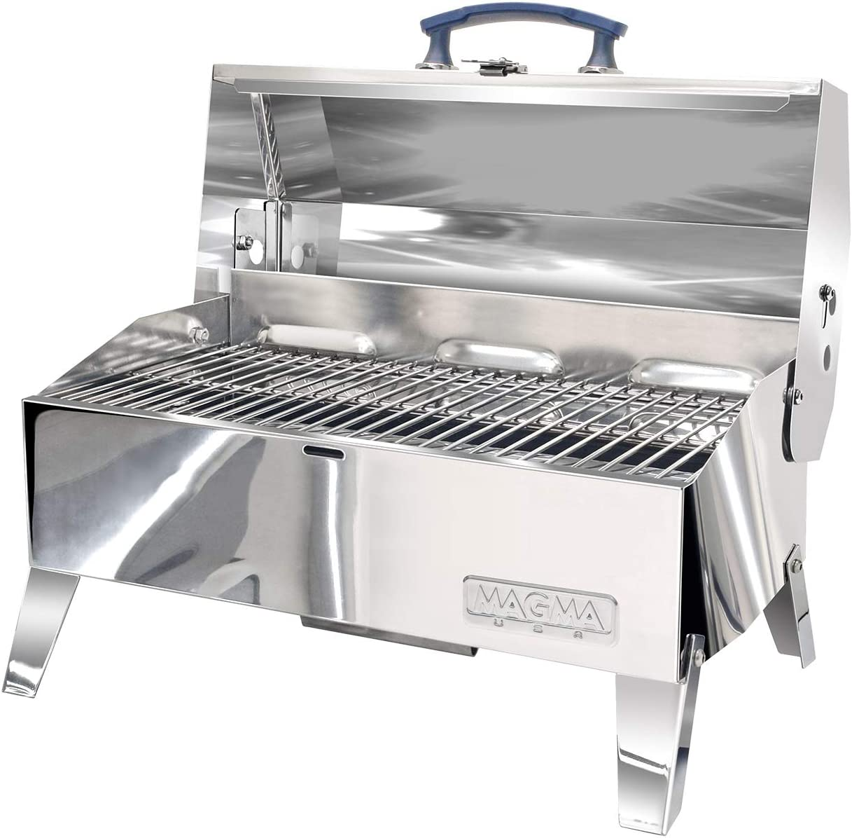 New Cabo Adventurer Marine Series Charcoal Grill Magma A10-703c Cooking Area Primary – 9 L x 18 W 162 Sq. in.