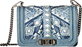 Rebecca Minkoff Women's Small Love Cross Body Bag, Light Denim, One Size
