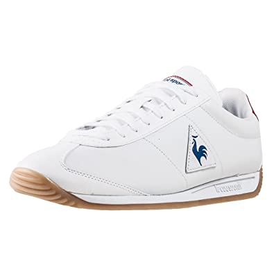 6dea040272 Le coq sportif Quartz Lea Sport Gum Optical White/Class 1720093, Sport Shoes  Unisex