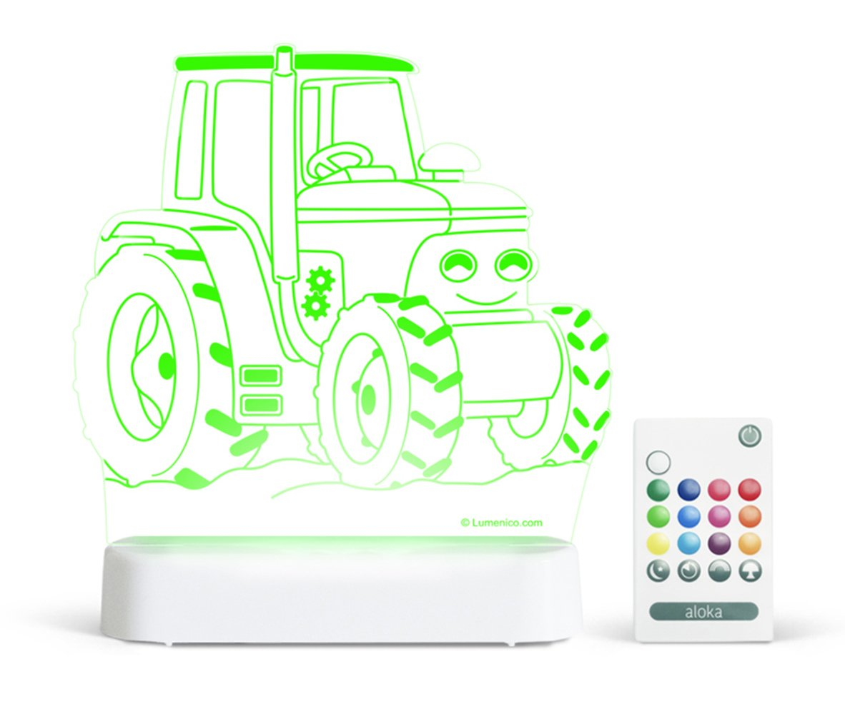 Aloka Sleepy Lights Tractor Sleepy Light/Remote