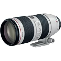 Canon EF 70-200mm f/2.8L IS II USM Lens for Canon EOS DSLR Cameras (White)