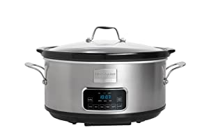 Frigidaire Professional Stainless 7-Quart Programmable Slow Cooker