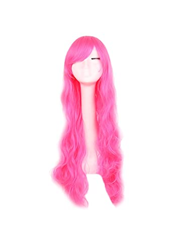 good service attractive price good out x Cosplay Wigs 32inch 80cm Long Curly Big Wavy Hair Ends Halloween Costume  Cosplay Party Heat...