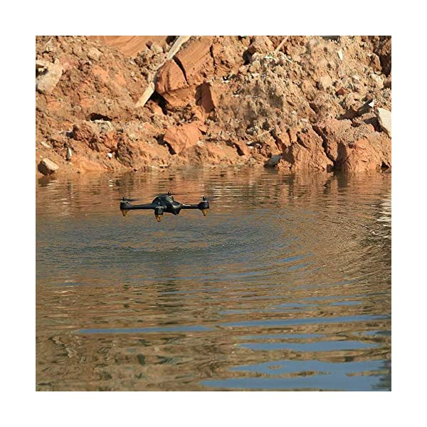 Hubsan H501S X4 PRO Brushless FPV Droni Quadricotteri GPS Fotocamera 1080P HD 5.8Ghz con Telecomando High Edition (H501S Nero) 7 spesavip