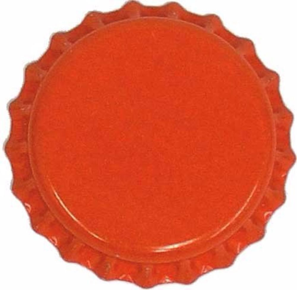 Chicago Brew Werks 144 count Orange Oxygen Absorbing Crown Bottle Caps for Home brewing Inc HOZQ8-252