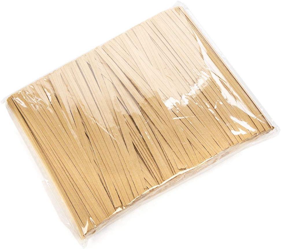 , Purple 1000 Pack ClearBags Paper Twist Ties 4 Standard
