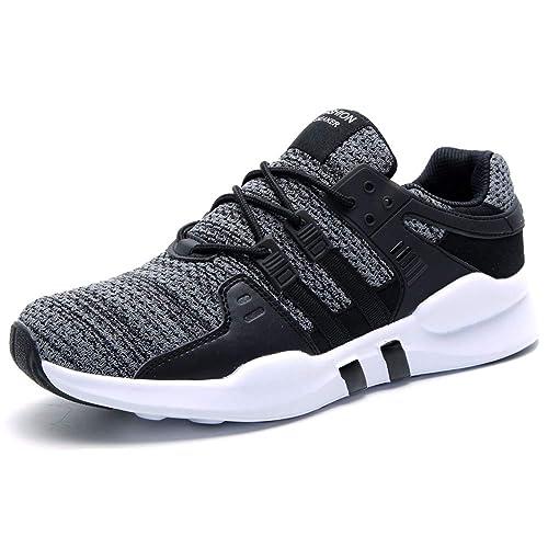 Hombres Deportivos Zapatillas Transpirables Entrenadores Gimnasio Senderismo Fitness: Amazon.es: Zapatos y complementos
