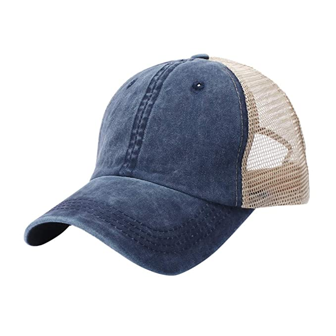 Minshao Baseball Caps Solid Color Cotton Hat Adjustable Size,Unisex Outdoor Cotton Solid Color Baseball Caps Adjustable Hat