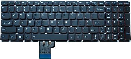 Teclado Go Go Go Go Layout Notebook Keyboard para Lenovo Y50-70 Y50-70 Y50-70A Y70-70T 25215956 V136520YS1 Series Negro, sin Marco, con ...