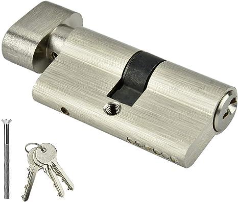 Amazon Com Suchinm 𝐂𝐡𝐫𝐢𝐬𝐭𝐦𝐚𝐬 𝐆𝐢𝐟𝐭 Door Lock Cylinder Single Open Lock Cylinder Bedroom Door Lock Cylinder With Keys For Home Wooden Doors 1 Home Kitchen