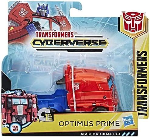 Hasbro Transformers: Cyberverse: 1-Step Changer Optimus Prime: Amazon.es: Juguetes y juegos