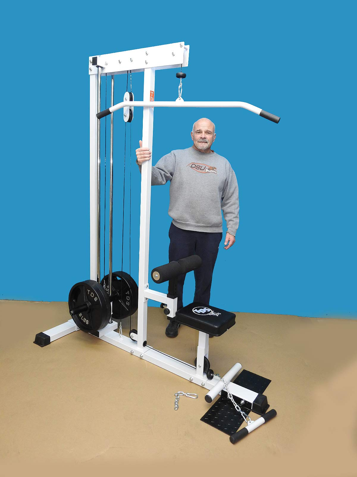 TDS Super LAT/Row Machine