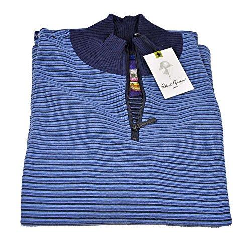 robert-graham-mens-greatlawn-medium-dark-navy-quarter-zip-pullover-sweater