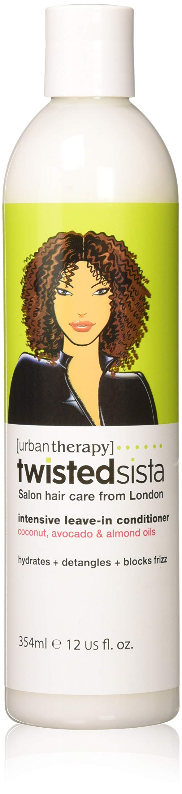 Twisted Sista Leave‑in Conditioner Intensive With Coconut/Avocado, 12 Ounce
