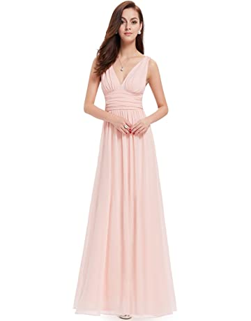 3483f4646846 Ever-Pretty Sleeveless V-Neck Semi-Formal Maxi Evening Dress 09016