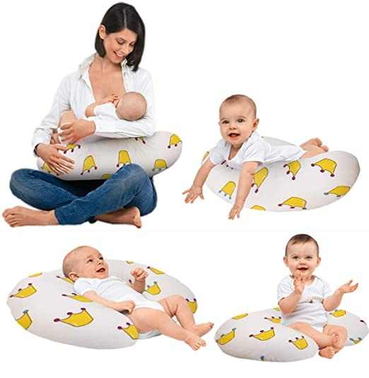 Amazon.com: LeBeni - Almohada de lactancia para recién ...