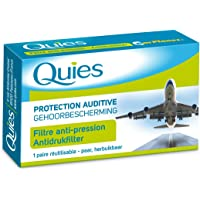 BOULES QUIES - protection auditive pour avion pour adulte (filtre anti-pression) une paire réutilisable