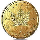 1グラム 1gの純金 24金 メイプル リーフ 金貨 カナダ王室造幣局発行 地金型 金塊 金地金 ゴールド コイン インゴット ロイヤル・カナディアン・ミント