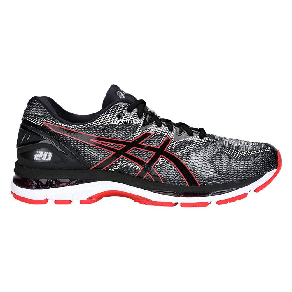 Noir Rouge (Alert) 46 EU ASICS Gel-Nimbus 20, Chaussures de FonctionneHommest Homme