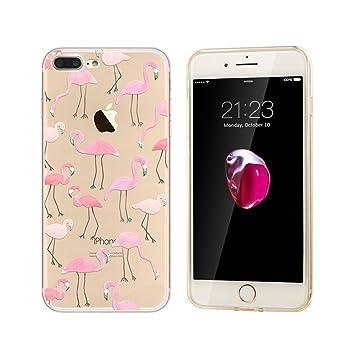 carcasa iphone 7 con agua flamencos