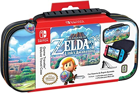 Custodia di Trasporto Deluxe Zelda Links Awakening - Nintendo Switch [Importación italiana]: Amazon.es: Videojuegos