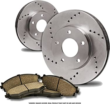 Fits: Mazda Disc Brake Rotors High-End Rear Rotors 5lug 2 OEM Repl