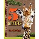 5 Giraffes (5 Animals)