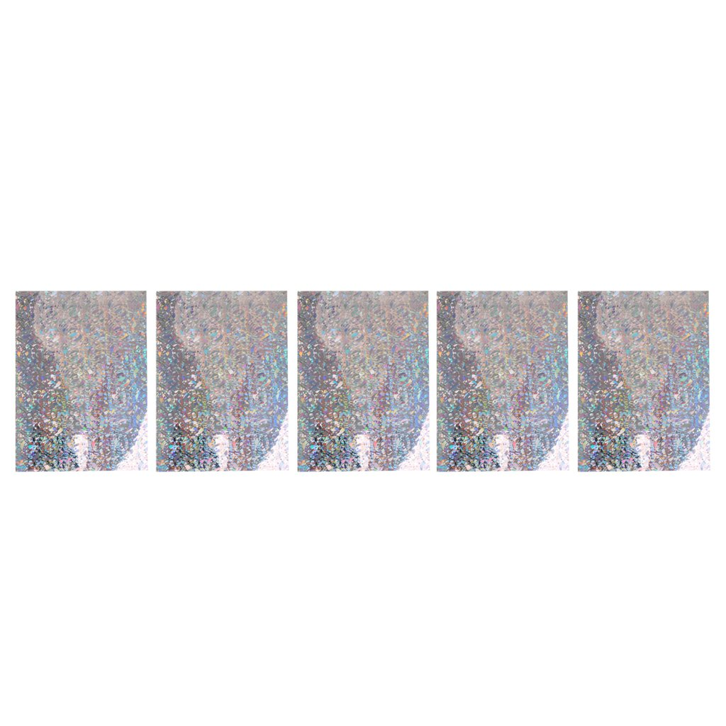 CUTICATE 5pcs P/êche Leurre Autocollant Poissons /échelles Bande Holographique Adh/ésif Bande Leurre pour Montage De Mouches Artisanat