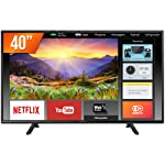 Smart TV LED 40´ Full HD Panasonic, Conversor Digital, 2 HDMI, 1 USB, Bluetooth, Wi-Fi - TC-40FS600B