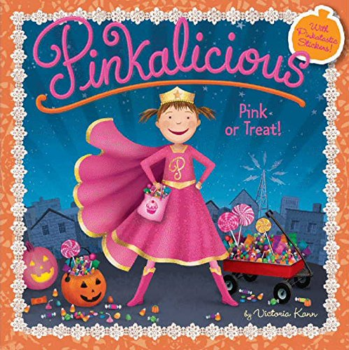 Kindergarten Halloween Activities (Pinkalicious: Pink or Treat!)
