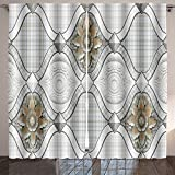 Analisahome ceramic tiles texture for pattern and background Bedroom/Living Room/2 Panels