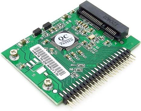PCI-E mSATA SSD 5 cm 3.3 V a 3,3 V 44pin IDE de 1,8 disco duro SSD ...