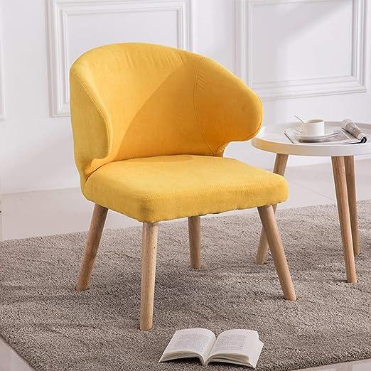 Comif- Chaise Longue de Madera Maciza, sillón tapizado, Tela ...