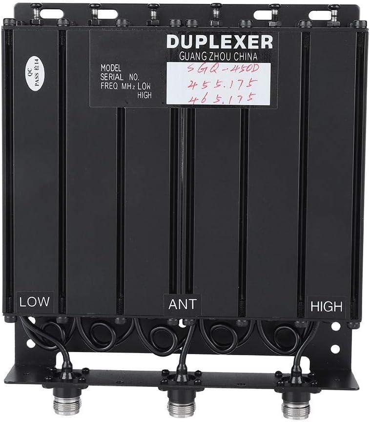Denash 50 W 6 Cavity Duplexer UHF-Duplexer TX 455.175 RX 465.175 N Anschluss