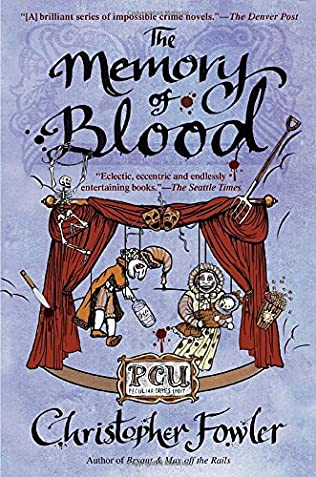 book cover of The Memory of Blood