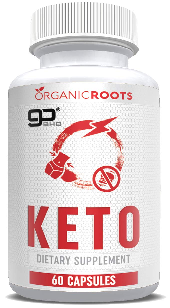 Keto Pills from Shark Tank - Fat Burning Weight Loss Supplement- Beta-Hydroxybutyrate - Exogenous Ketones - Formulated for Ketosis, Focus, Energy and Fat Loss - for Men and Women - 60 Capsules